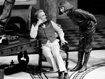 MISALLIANCE by Bernard Shaw design: Roger Butlin lighting: David Hersey director: John Caird <br> Brian Cox (John Tarleton), Jane Lapotaire (Lina Szczepanowska) Royal Shakespeare Company (RSC), Barbic...
