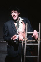 ROAD by Jim Cartwright design: Paul Brown lighting: Christopher Toulmin director: Simon Curtis <br> Edward Tudor-Pole (Scullery) Royal Court Theatre, London SW1 09/06/1986 (c) Donald Cooper/Photostage...