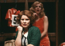 THEY SHOOT HORSES, DON'T THEY? by Ray Herman adapted from the novel by Horace McCoy design: Ralph Koltai lighting: Chris Ellis director: Ron Daniels <br> l-r: Imelda Staunton (Gloria Beatty), Denica F...