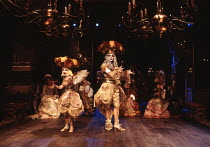 THE RELAPSE by Sir John Vanbrugh design: Tim Goodchild lighting: Simon Tapping director: Ian Judge <br> masque Royal Shakespeare Company (RSC), Swan Theatre, Stratford-upon-Avon, England 19/04/1995 (c...