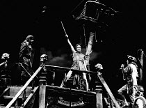 PETER PAN by J M Barrie set design: John Napier costumes: Andreane Neofitou lighting: David Hersey fights: Malcolm Ranson directors: John Caird & Trevor Nunn <br> John McAndrew (Peter Pan) with pirate...