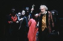 THE VIRTUOSO by Thomas Shadwell music: Gary Yershon design: Anthony Ward lighting: Wayne Dowdeswell movement: Sue Lefton director: Phyllida Lloyd <br> Linda Marlowe (Lady Gimcrack), Freddie Jones (Sir...