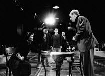 HAPPY END book: Dorothy Lane music: Kurt Weill lyrics: Bertolt Brecht translation: Michael Feingold design: Bunny Christie lighting: Gerry Jenkinson directors: Di Trevis & Stuart Hopps <br> front left...