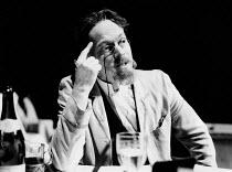 ANTON CHEKHOV devised by Michael Pennington & Irina Brown design: Alison Chitty <br> Michael Pennington (Anton Chekhov) Cottesloe Theatre, National Theatre (NT), London SE1 05/07/1984 (c) Donald Coop...