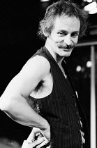 Max Stafford Clark (director) at a rehearsal of GHOSTS by Wolfgang Bauer at the Hampstead Theatre Club, London NW3 in 1975 Born in Cambridge in 1941 Artistic Director of the Traverse Theatre, Edinbur...