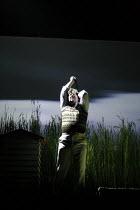 HUMBLE BOY by Charlotte Jones design: Ben Stones lighting: David Holmes director: Richard Beecham <br> Jeremy Swift (Felix) Theatre Royal, Royal & Derngate, Northampton, England 11/04/2008 (c) Donal...
