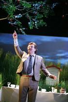 HUMBLE BOY by Charlotte Jones design: Ben Stones lighting: David Holmes director: Richard Beecham <br> Jeremy Swift (Felix) Theatre Royal, Royal & Derngate, Northampton, England 11/04/2008 (c) Donald...