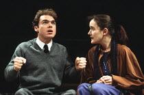 WILDEST DREAMS written & directed by Alan Ayckbourn design: Roger Glossop lighting: Mick Hughes fights: Malcolm Ranson <br> Gary Whitaker (Warren Wrigley), Sophie Thompson (Marcie Banks) Royal Shakesp...