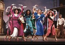 CRAZY FOR YOU music & lyrics: George & Ira Gershwin book: Ken Ludwig co-conceived by Ken Ludwig & Mike Ockrent set design: Robin Wagner costumes: William Ivey Long lighting: Paul Gallo choreography: S...