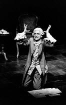 AMADEUS by Peter Shaffer design & lighting: John Bury director: Peter Hall <br> Paul Scofield (Antonio Salieri)Olivier Theatre, National Theatre (NT), London SE1 02/11/1979(c) Donald Cooper/Photostage...
