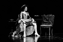AMADEUS by Peter Shaffer design & lighting: John Bury director: Peter Hall <br> Morag Hood (Constanze Weber) a National Theatre (NT) 1979 production / Her Majesty's Theatre, Haymarket, London SW1 02/0...