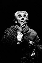 AMADEUS by Peter Shaffer design & lighting: John Bury director: Peter Hall <br> Frank Finlay (as Antonio Salieri) a National Theatre (NT) 1979 production / Her Majesty's Theatre, Haymarket, London SW1...