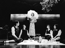 THE PRIME OF MISS JEAN BRODIE by Jay Presson Allen adapted from the novel by Muriel Spark design: Robert Jones lighting: Mick Hughes director: Alan Strachan <br> Patricia Hodge (Jean Brodie) with the...