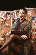 TORCH SONG TRILOGY by Harvey Fierstein set design: Bill Stabile costumes: Jane Robinson lighting: Gerry Jenkinson director: Robert Allan Ackerman <br> Antony Sher (Arnold Beckoff) Albery Theatre, Lond...
