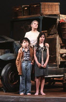 THE GRAPES OF WRATH by John Steinbeck adapted & directed by Frank Galati set & lighting design: Kevin Rigdon costumes: Erin Quigley fights: Michael Sokoloff choreographer: Peter Amster <br> centre: L...