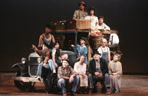 THE GRAPES OF WRATH by John Steinbeck adapted & directed by Frank Galati set & lighting design: Kevin Rigdon costumes: Erin Quigley fights: Michael Sokoloff choreographer: Peter Amster <br> front cent...
