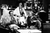 CLAY by Peter Whelan design: Poppy Mitchell lighting: Michael Calf director: Bill Alexander <br> l-r: Jim Broadbent (Pat), Gemma Jones (Win), Fred Pearson (Bert), Janet Dale (Micky) Royal Shakespeare...