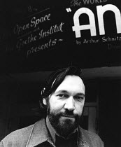 Charles Marowitz <br> Founder & Artistic Director of the Open Space Theatre, London in 1976 (c) Donald Cooper/Photostage photos@photostage.co.uk ref/BW-P-038-16-CR