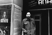 Charles Marowitz <br> Founder & Artistic Director of the Open Space Theatre, London in 1976 (c) Donald Cooper/Photostage photos@photostage.co.uk ref/BW-P-038-21