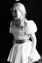 HAMLET by Shakespeare design: John Napier & Jeffrey Torrens lighting: Paul du Feu  adapted & directed by Charles Marowitz <br> Natasha Pyne (Ophelia) Open Space Theatre, London NW1 07/07/1969 (c) Do...