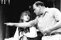 THE WAR AT HOME by James Duff design: Sue Plummer lighting: Mick Hughes director: Michael Attenborough <br> Sylvestra Le Touzel (Karen), Timothy West (Bob) Hampstead Theatre, London NW3 13/06/1984 (c)...