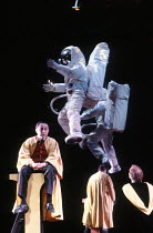JUMPERS by Tom Stoppard design: Carl Toms lighting: David Hersey director: Peter Wood <br> left: Timothy Bateson (Crouch) Aldwych Theatre, London WC2 01/04/1985 (c) Donald Cooper/Photostage photos@pho...