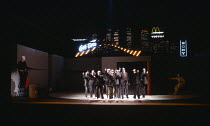 PACIFIC OVERTURES  music & lyrics: Stephen Sondheim  book: John Weidman  conductor: James Holmes  set design: Ralph Koltai  costumes: Marie-Jeanne Lecca  lighting: Nick Chelton  choreography: David To...