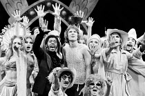 PIPPIN book: Roger O. Hirson music & lyrics: Stephen Schwartz set design: Tony Walton costumes: Patricia Zipprodt lighting: Jules Fisher director & choreographer: Bob Fosse <br> centre, l-r: Northern...