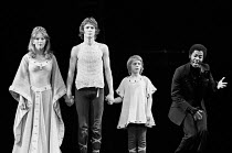 PIPPIN book: Roger O. Hirson music & lyrics: Stephen Schwartz set design: Tony Walton costumes: Patricia Zipprodt lighting: Jules Fisher director & choreographer: Bob Fosse <br> l-r: Patricia Hodge (C...