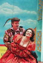 KISS ME KATE music & lyrics: Cole Porter book: Sam & Bella Spewack after The Taming of the Shrew by Shakespeare design: Paul Farnsworth lighting: Jason Taylor choreographer: Lisa Kent director: Ian Ta...
