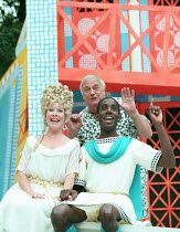 A FUNNY THING HAPPENED ON THE WAY TO THE FORUM book: Burt Shevelove & Larry Gelbart music & lyrics: Stephen Sondheim design: Paul Farnsworth lighting: Jason Taylor choreography: Lisa Kent director: Ia...