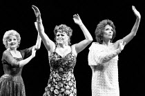 FOLLIES music & lyrics by Stephen Sondheim book: James Goldman design: Maria Bjornson choreography: Bob Avian director: Mike Ockrent <br> l-r: Julia McKenzie (Sally Plummer), Lynda Baron (Stella Deem...
