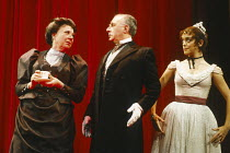 PHANTOM OF THE OPERA written & directed by Ken Hill based on the novel by Gaston Leroux design: Sarah Jane McClelland lighting: Gerry Jenkinson <br>l-r: Toni Palmer (Madame Giry), Reginald Marsh (Rich...