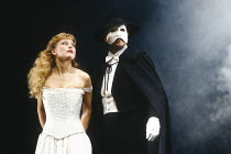 PHANTOM OF THE OPERA written & directed by Ken Hill based on the novel by Gaston Leroux design: Sarah Jane McClelland lighting: Gerry Jenkinson <br>Christina Collier (Christine Daac), Peter Straker (T...