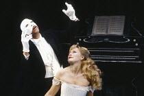 PHANTOM OF THE OPERA written & directed by Ken Hill based on the novel by Gaston Leroux design: Sarah Jane McClelland lighting: Gerry Jenkinson <br> Peter Straker (The Phantom), Christina Collier (Chr...