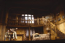 ROOKERY NOOK by Ben Travers design: Michael Annals lighting: Leonard Tucker director: Frank Dunlop <br> l-r: Andrew Robertson (Harold Twine), Nicky Henson (Gerald Popkiss) Her Majesty's Theatre, Hayma...