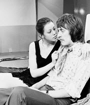 ROOTED by Alexander Buzo director: Pam Brighton <br> Jenny Agutter (Sandy), Philip Jackson (Bentley) Hampstead Theatre Club, London NW3 05/03/1973 (c) Donald Cooper/Photostage photos@photostage.co.uk...