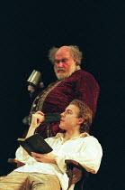 HENRY IV by Shakespeare design: Pamela Howard director: Stephen Unwin <br> Timothy West (Sir John Falstaff), Samuel West (Hal) English Touring Theatre (ETT), Old Vic, London SE1 30/01/1997 (c) Donald...