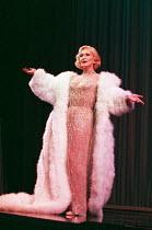 MARLENE by Pam Gems set design: Michael Vale costumes: Terry Parsons lighting: Mark Jonathan director: Sean Mathias <br> Sian Phillips (Marlene Dietrich) Lyric Theatre, London W1 08/04/1997 (c) Donald...