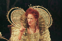 VIVAT! VIVAT REGINA! by Robert Bolt design: Poppy Mitchell director: Roy Marsden <br> Janet McTeer (Queen Elizabeth 1) Mermaid Theatre, London EC4 23/10/1995 (c) Donald Cooper/Photostage photos@phot...