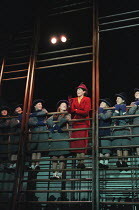 THE PRIME OF MISS JEAN BRODIE by Jay Presson Allen adapted from the novel by Muriel Spark design: Huntley/Muir lighting: Peter Mumford director: Phyllida Lloyd <br> in the gymnasium: Fiona Shaw (Jean...