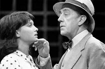 A VOYAGE ROUND MY FATHER by John Mortimer director: Ronald Eyre <br> Nicola Pagett (Elizabeth), Alec Guinness (Father) ** lo-res for selection purposes only: hi-res available to order ** Theatre Royal...