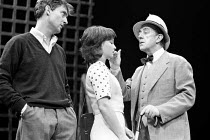 A VOYAGE ROUND MY FATHER by John Mortimer director: Ronald Eyre <br> l-r: Jeremy Brett (Son), Nicola Pagett (Elizabeth), Alec Guinness (Father) ** lo-res for selection purposes only: hi-res available...