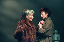 THE WINTER GUEST by Sharman Macdonald design: Robin Don director: Alan Rickman <br> l-r: Phyllida Law (Elspeth), Sian Thomas (Frances) Almeida Theatre, London N1 04/03/1995 (c) Donald Cooper/Photostag...