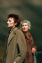 THE WINTER GUEST by Sharman Macdonald design: Robin Don director: Alan Rickman <br> l-r: Sian Thomas (Frances), Phyllida Law (Elspeth) Almeida Theatre, London N1 04/03/1995 (c) Donald Cooper/Photostag...
