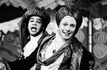 WEDLOCK / DEADLOCK by Susanna Centlivre adapted and directed by Fidelis Morgan composer: Derek Watson design: Geoff Rose choreography: Stephen Jefferies <br> l-r: Nizwar Karanj (Husband), Robin Hoope...