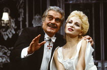THE SLEEPING PRINCE by Terence Rattigan design: Peter Rice lighting: Mick Hughes director: Peter Coe <br> Omar Sharif (His Royal Highness, The Grand Duke Charles, Prince Regent of Carpathia), Debbie...