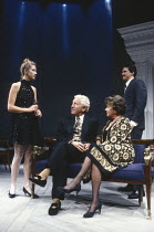 PARTY TIME by Harold Pinter design: Mark Thompson lighting: Mick Hughes director: Harold Pinter <br> l-r: Cordelia Roche (Dusty), Barry Foster (Gavin), Dorothy Tutin (Melissa), Peter Howitt (Terry) Al...