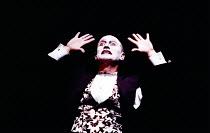SALOME by Oscar Wilde set design: Robert Ballagh costumes: David Blight lighting: Trevor Dawson director: Steven Berkoff <br> Steven Berkoff (Herod) Lyttelton Theatre, National Theatre (NT), London SE...