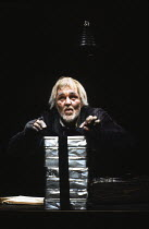 KRAPP'S LAST TAPE by Samuel Beckett set design: Gerhard Trimpin, John Lovell & Rick Cluchey costumes: Teri Garcia Sutro lighting: Bud Thorpe director: Rick Cluchey in consultation with Samuel Beckett...